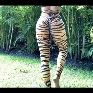 Abs2B fitness tiger legging